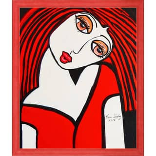 Nora Shepley 'Ruby' Fine Art Print on Canvas
