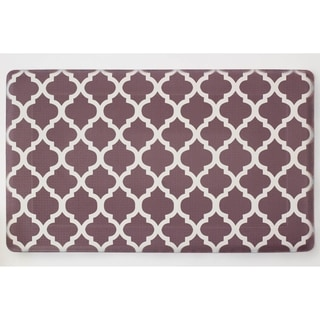 Chef Gear Quatrefoil Anti-Fatigue Gelness 24 x 36 in. Kitchen Mat - (24 x 36 in.)