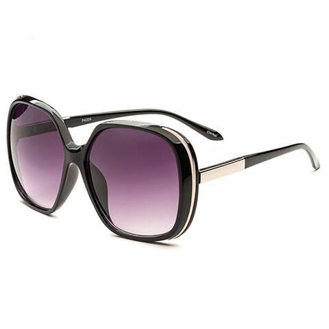 Pop Fashionwear P4004 Women's Tortoise-shell Oversized Polarized Sunglasses
