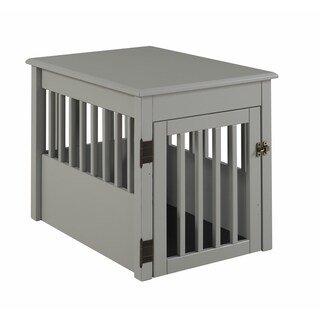 Ruffluv Medium Pet Crate End Table