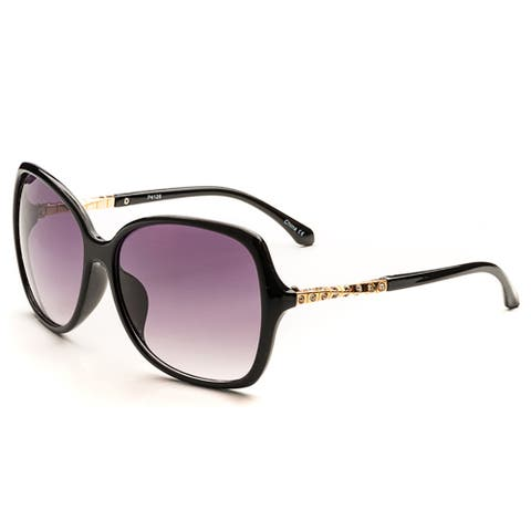 Pop Fashionwear Women's P4128 Oversized Trendy Fashion Sunglasses
