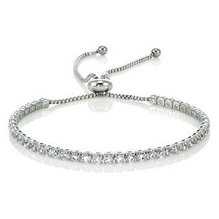 Glitzy Rocks Stainless Steel Sterling Silver Cubic Zirconia Adjustable Bracelet|https://ak1.ostkcdn.com/images/products/14515158/P21070291.jpg?_ostk_perf_=percv&impolicy=medium