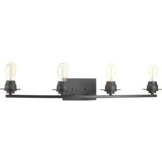 Progress Lighting Debut Grey Steel 4-light Bath Light