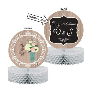 Rustic Wedding Centerpieces (Pack of 6)