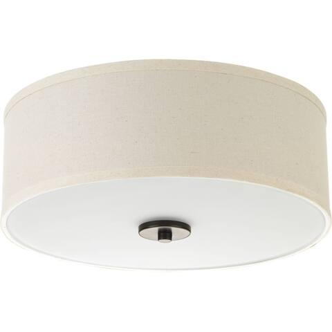 Progress Lighting Inspire Steel 1-light LED Flush Mount - N/A