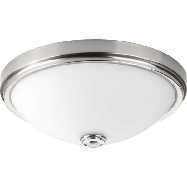 Progress Lighting Linen One Light Dc Led Flush Mount N A