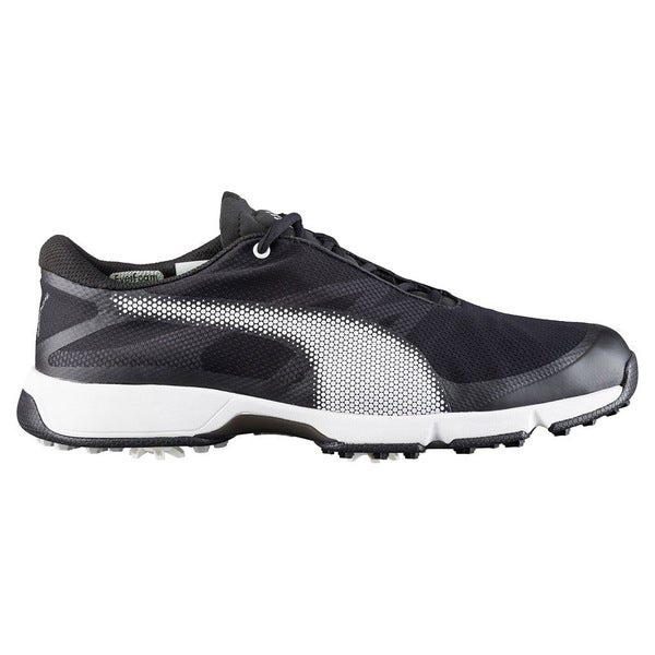 PUMA Ignite Drive Sport Golf Shoes  Black/White