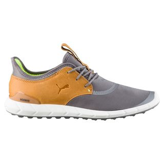 PUMA Ignite Spikeless Sport Golf Shoes Smoked Pearl/Cathay Spice