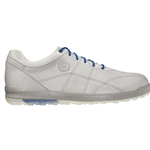 FootJoy Versaluxe Casual Spikeless Golf Shoes  White/Blue