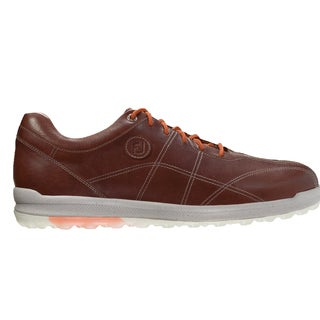 FootJoy Versaluxe Casual Spikeless Golf Shoes Brown