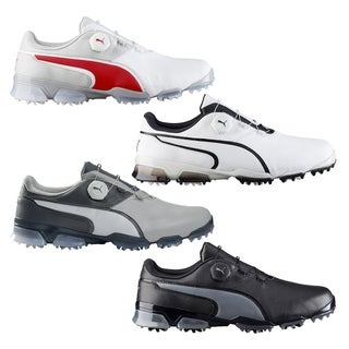 PUMA Titantour Ignite Disc Golf Shoes Gray Violet/White