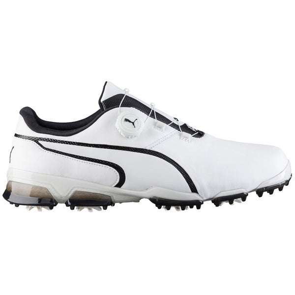 PUMA Titantour Ignite Disc Golf Shoes  White/Black