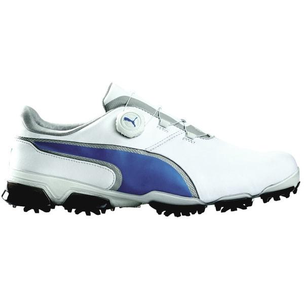 PUMA Titantour Ignite Disc Golf Shoes White/True Blue
