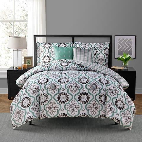 Style Decor Tanya 5-piece Comforter Set