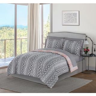 Style Decor Brenda 8-piece Bed-in-a-Bag Bedding Set