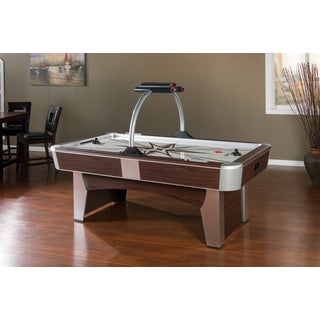 Monarch White/Brown ABS Air-Hockey Table