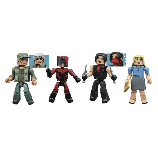 Diamond Select Toys Marvel Netflix Minimates Daredevil Series 2 Box Set