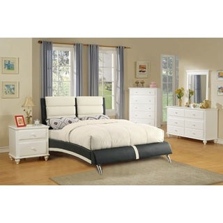 Kalbajar 4 Piece Modern Bed Room Set in White