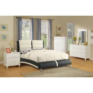Kalbajar 4 Piece Modern Bed Room Set in White  Option  White. White Bedroom Sets For Less   Overstock com