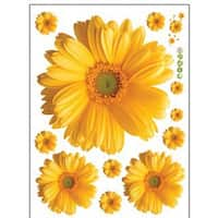 Flat Daisy Flower Wall Stickers