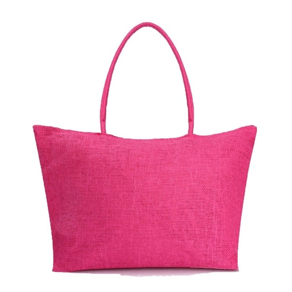 Solid Colored Tote Beachbag Shopping Bag