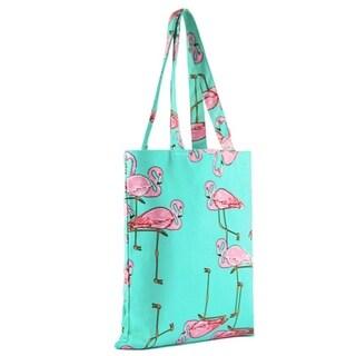 Pink Flamingo Tote Beachbag Shopping Bag