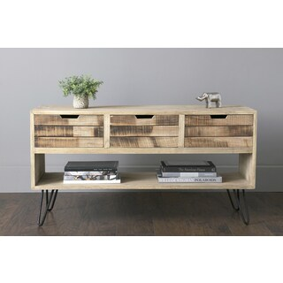 East At Main's Oliver Brown Mindi Wood Rectangular Chest