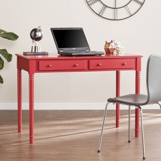 Harper Blvd Jennifer Farmhouse 2-Drawer Writing Desk - Rustic Red