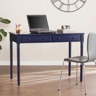Harper Blvd Jennifer Farmhouse 2-Drawer Writing Desk - Navy