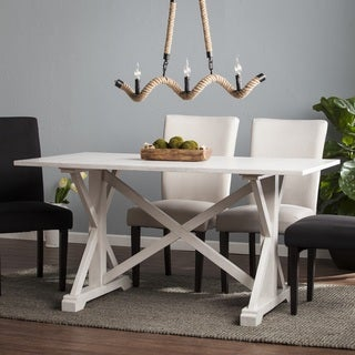 Harper Blvd Calloway Distressed Farmhouse Dining Table