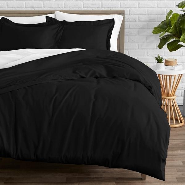 Premium Lightweight Ultra Soft Microfiber Duvet Quilt Cover And Pillow Case Set