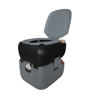Reliance Portable Toilet 4822e (Electric Flush) 6 Gallon