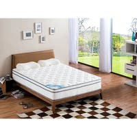Pillow Top Full-size Pocket Spring Mattress - White
