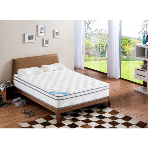 Pillow Top Full-size Medium Support Pocket Spring Mattress