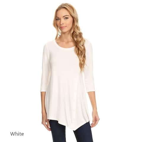 3bbc9e02b0f White Tops | Find Great Women's Clothing Deals Shopping at Overstock