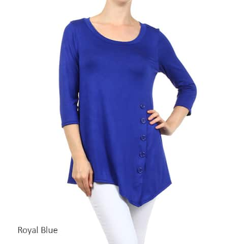fabe6b06ba5 Blue Tops | Find Great Women's Clothing Deals Shopping at Overstock