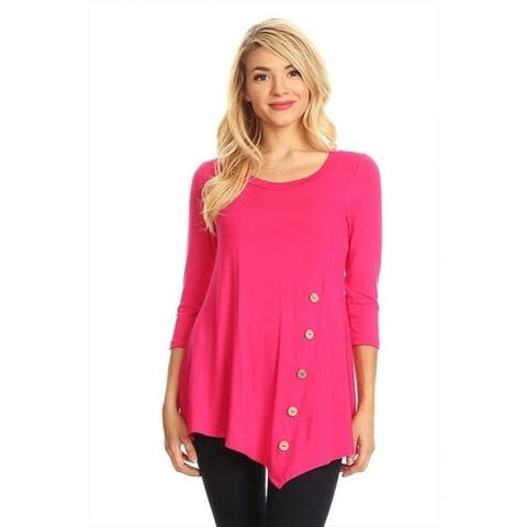 48e9c241d64f6 Pink Tops | Find Great Women's Clothing Deals Shopping at Overstock