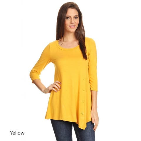 e3ad4815e6 Yellow Tops | Find Great Women's Clothing Deals Shopping at Overstock