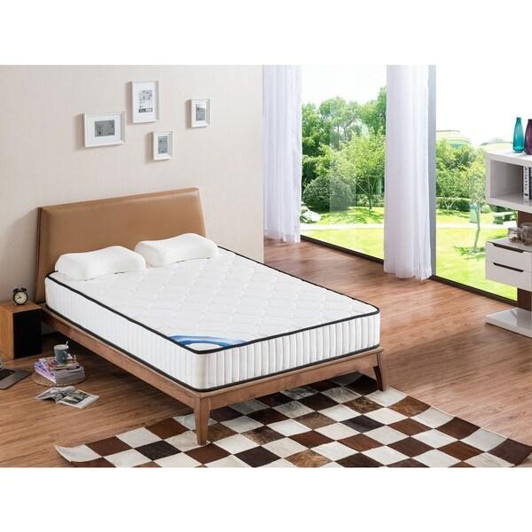 shop standard full size pocket spring mattress free shipping today 14516986. Black Bedroom Furniture Sets. Home Design Ideas