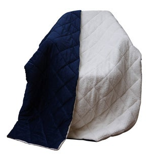 Cozy Soft Quilted Fleece-like Throw