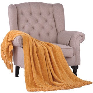 BOON Crystal Chenille Knitted Throw