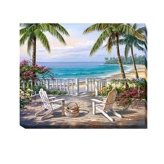 Artistic Home Gallery Sung Kim 'Coastal View' Gallery-wrapped Canvas Giclee Art