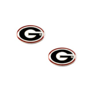 NCAA Georgia Bulldogs Post Stud Earring Charm Set