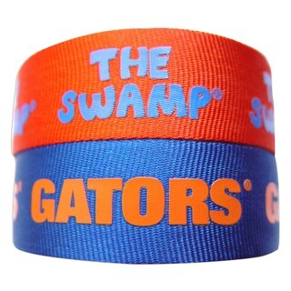 NCAA Florida Gators Slap Snap Wrap Wrist Band (Set of 2)