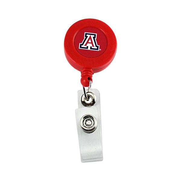NCAA Arizona Wildcats Retractable Badge Reel Id Ticket Clip
