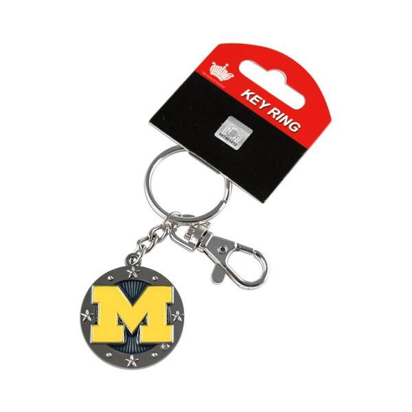 NCAA Michigan Wolverines Impact Metal Key Chain