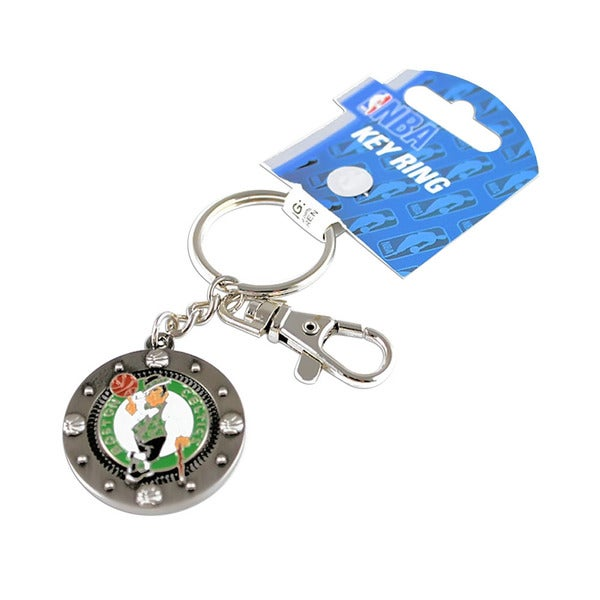 NBA Boston Celtics Impact Metal Key Ring Keychain