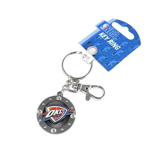 NBA Oklahoma City Thunder Impact Metal Keychain