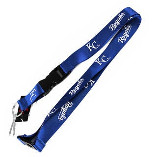 Aminco MLB Kansas City Royals Blue Clip Lanyard Keychain and ID Ticket Holder