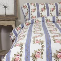 Annabelle Blue Cotton Duvet Cover